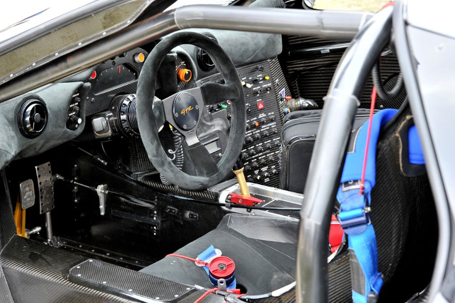 McLaren F1 GTR Cockpit