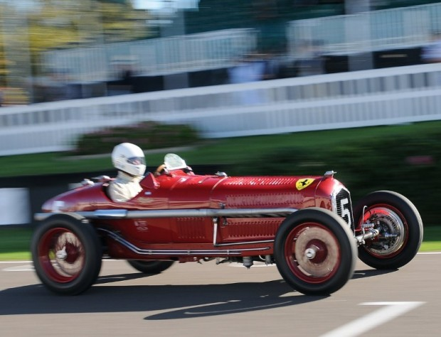 Alfa Romeo Tipo B driven by Umberto Rossi - Goodwood Trophy Race at Goodwood Revival 2010
