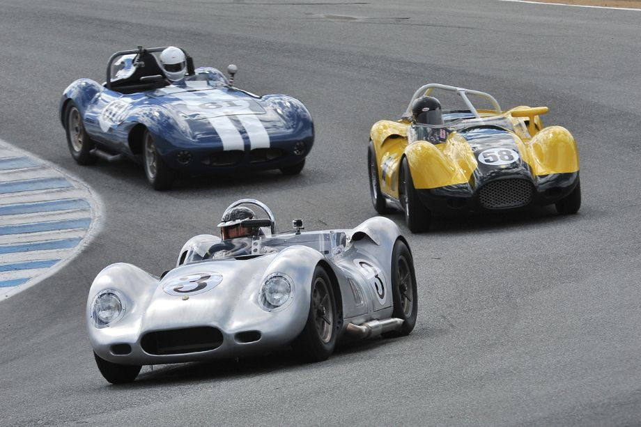 1958 Lister Knobbly, 1958 Lister Knobbly and 1958 Hagemann-Sutton Special