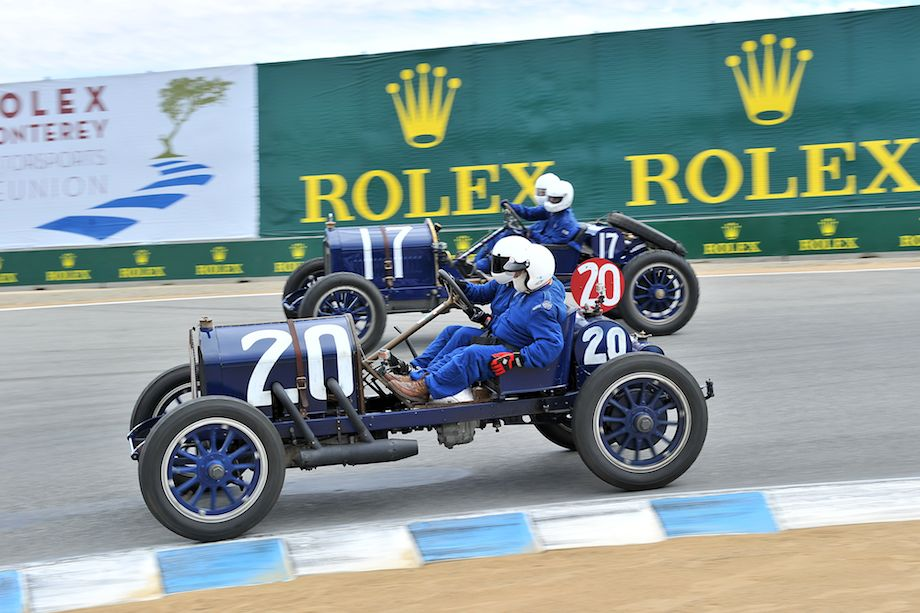 Pair of Nationals lined up at the Monterey Motorsports Reunion (photo: Tim Scott)