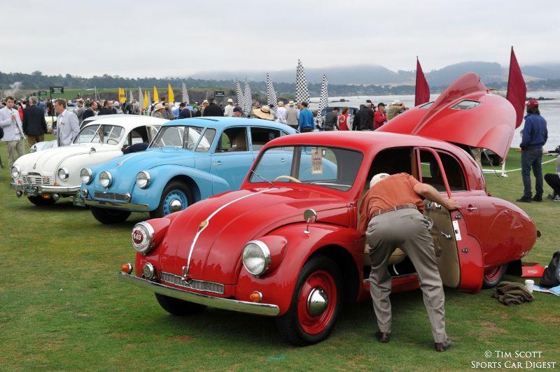 Tatra Class at Pebble Beach Concours d'Elegance 2014