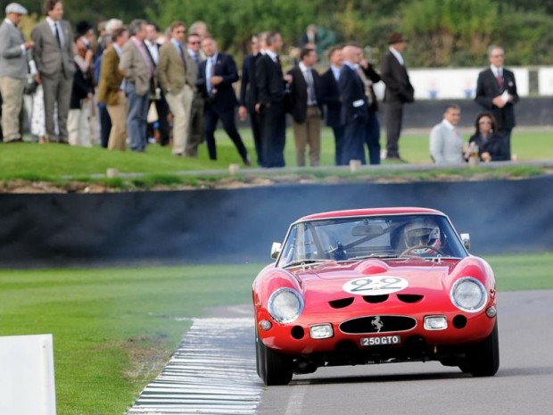 Ferrari 250 GTO during RAC TT Celebration race at Goodwood Revival 2010