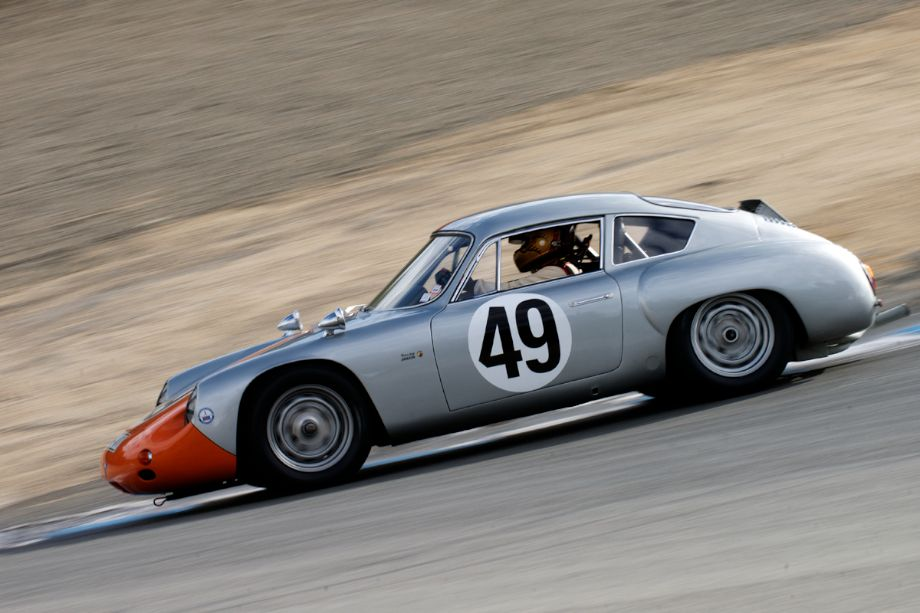 Ranson Webster's Porsche Abarth Carrera in The Corkscrew.