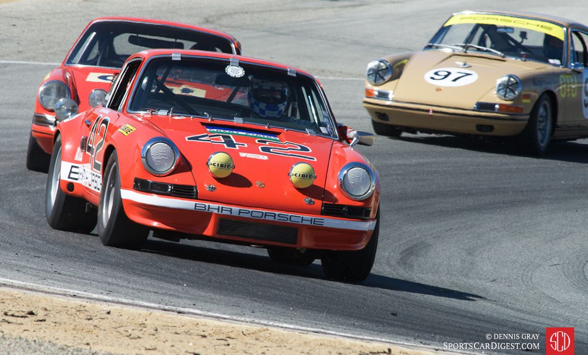 1972 Porsche 911S driven by Philip M. Bagley