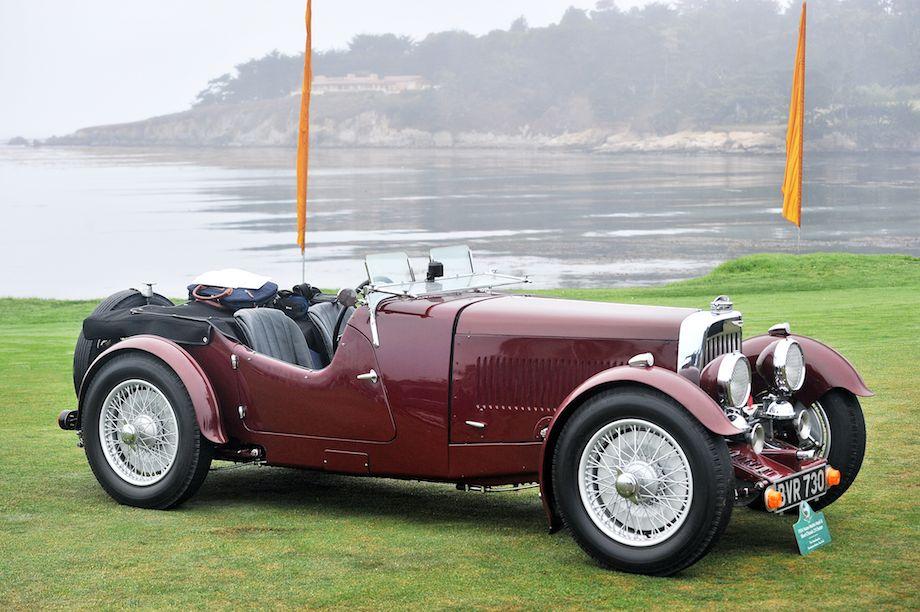1934 Aston Martin Mark II Short Chassis 2/4 Seater