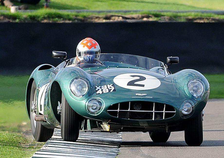 Aston Martin DBR1 is put through the paces