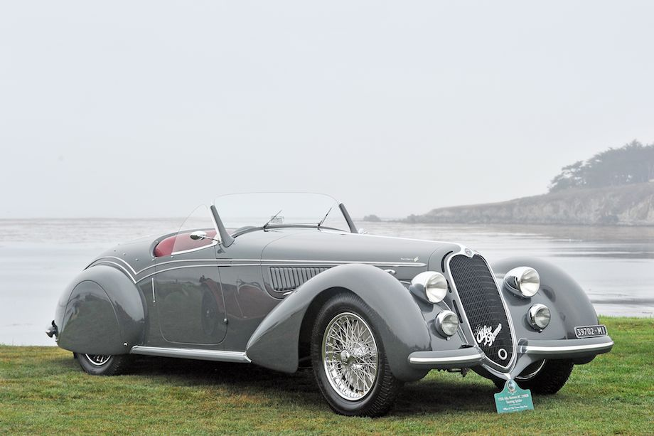 1938 Alfa Romeo 8C 2900B Touring Spider