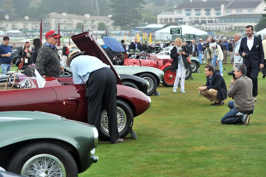 Getting ready - Pebble Beach Concours 2013