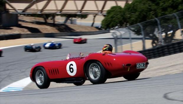 Jon Shirley, Laguna Seca, Maserati 300S