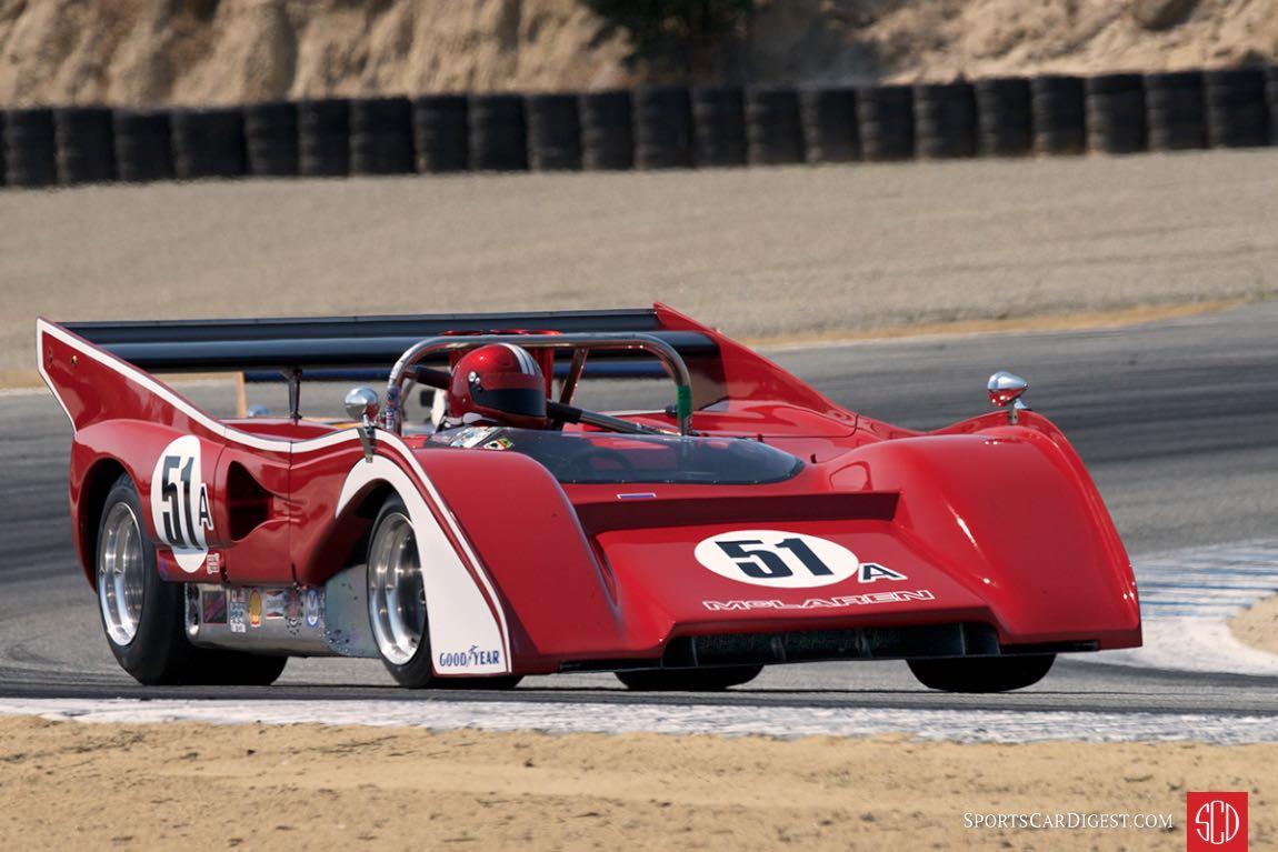 Roger Williams - McLaren M8 E/F
