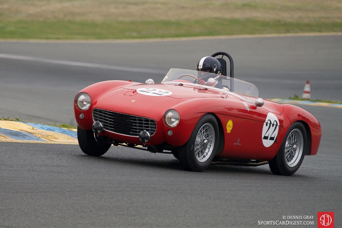 Jeffrey Abramson - 1954 Ferrari Mondial.