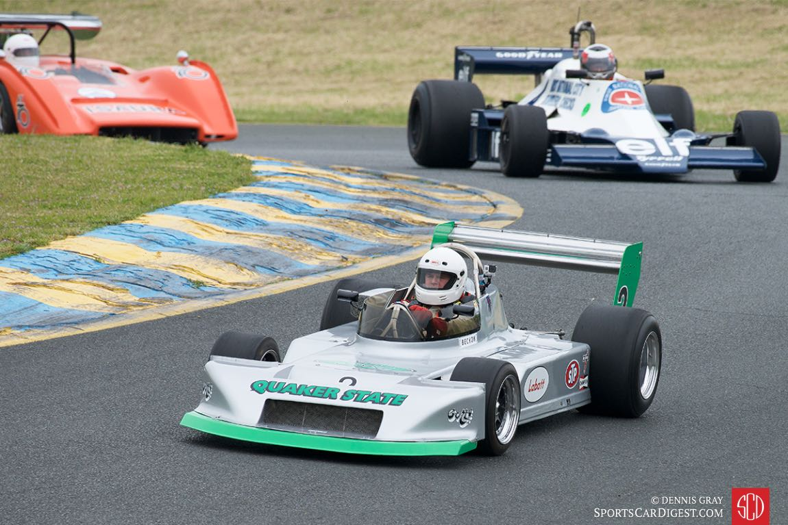 Rob Fisher in his RALT.