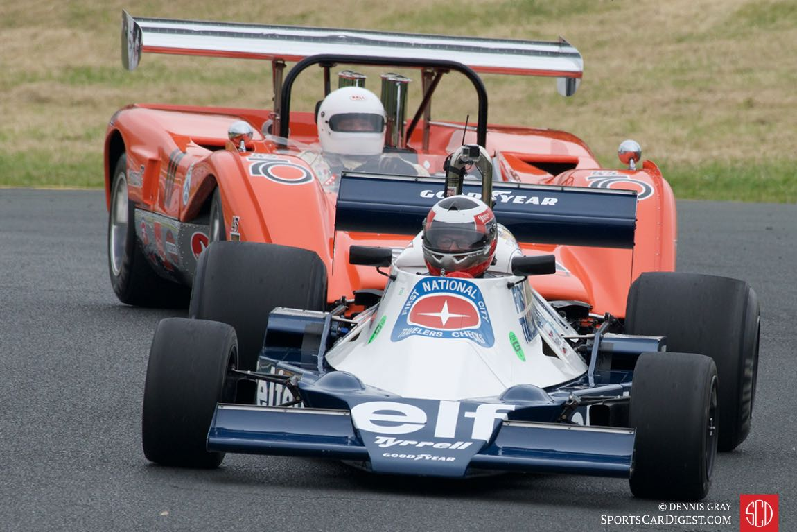 John Goodman's Tyrrell F1.