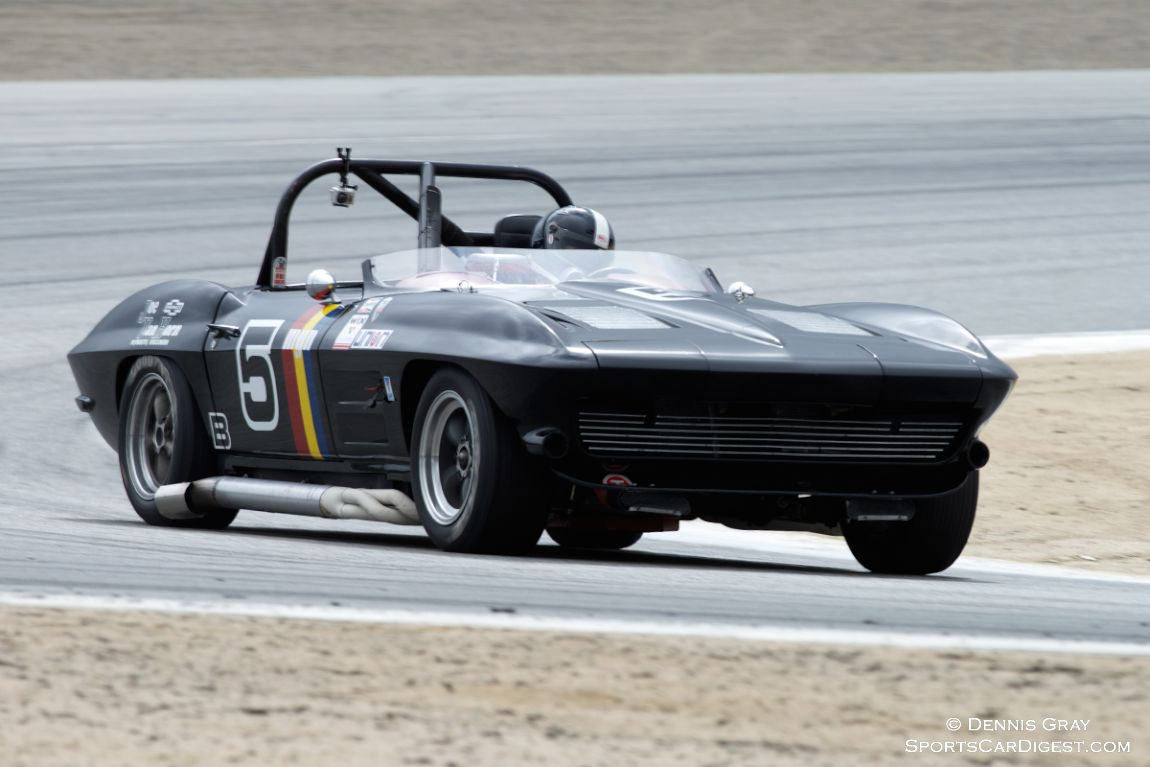 Quick well driven Jeff Abramson's Corvette.