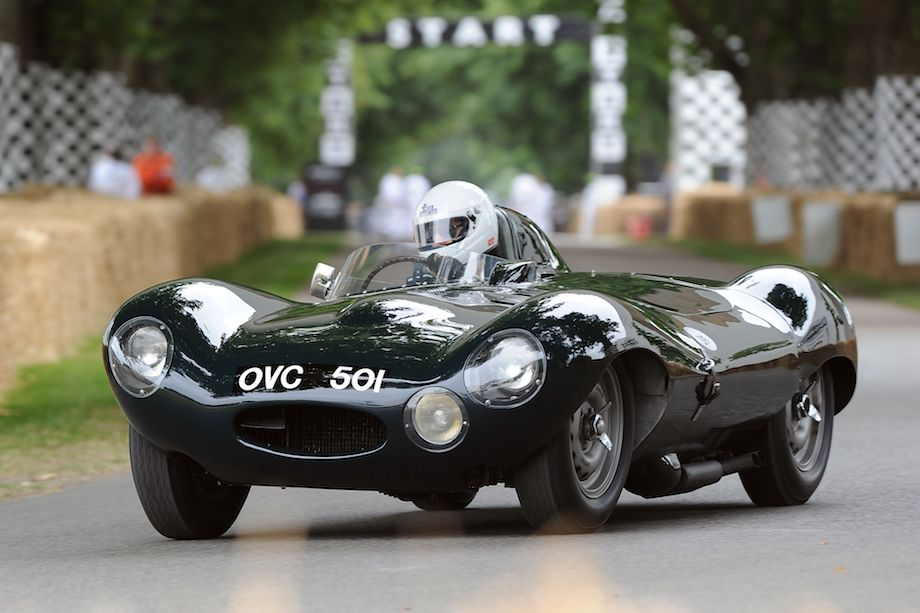 Short nose 1954 Jaguar D-Type Prototype, chassis number one