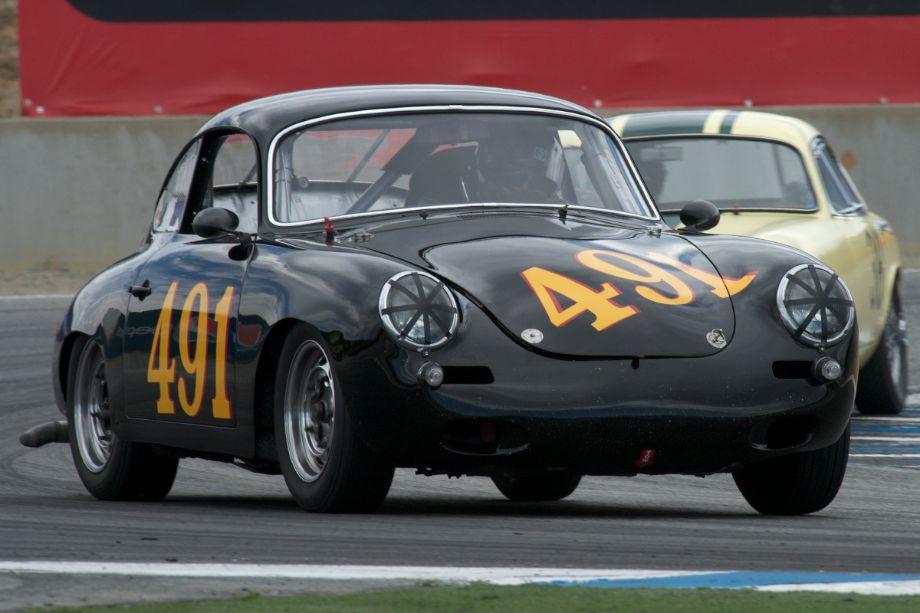 Alec Hugo's Porsche 356B.