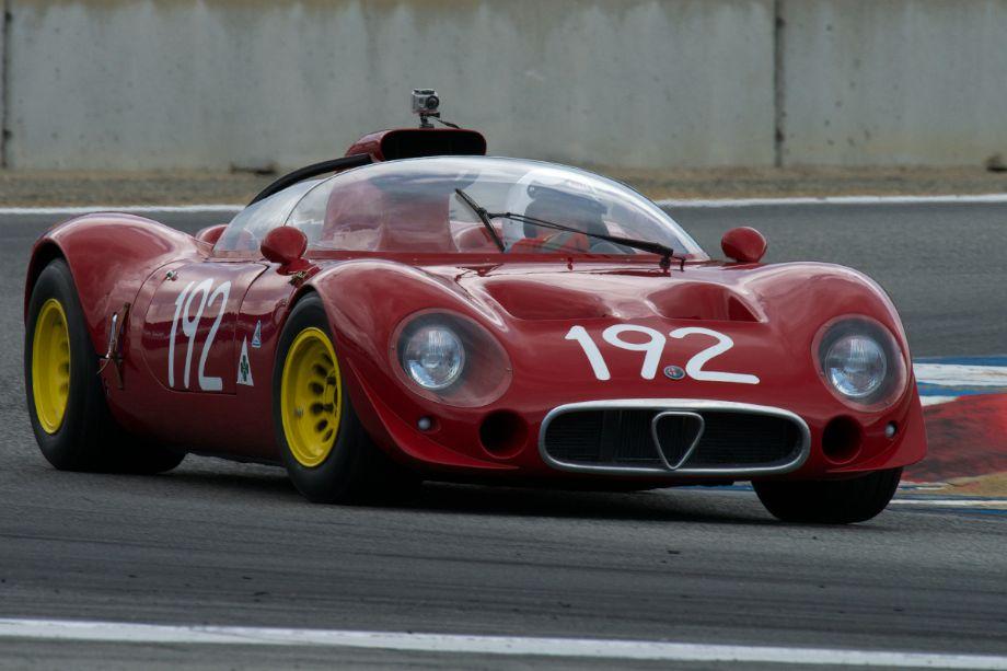 Alfa Romeo T33-2 driven by Joe Nastasi.