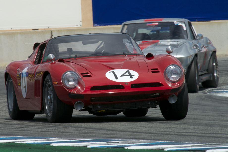 Bizzarrini Strada GT Chevrolet driven by John Fudge.