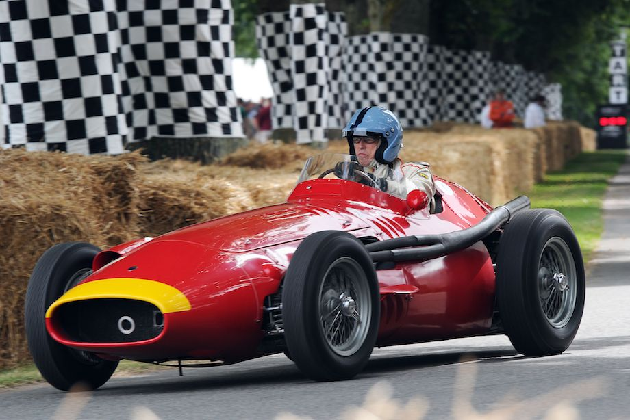 Maserati 250F, ex-Juan Manuel Fangio German Grand Prix winner at the Nurburgring