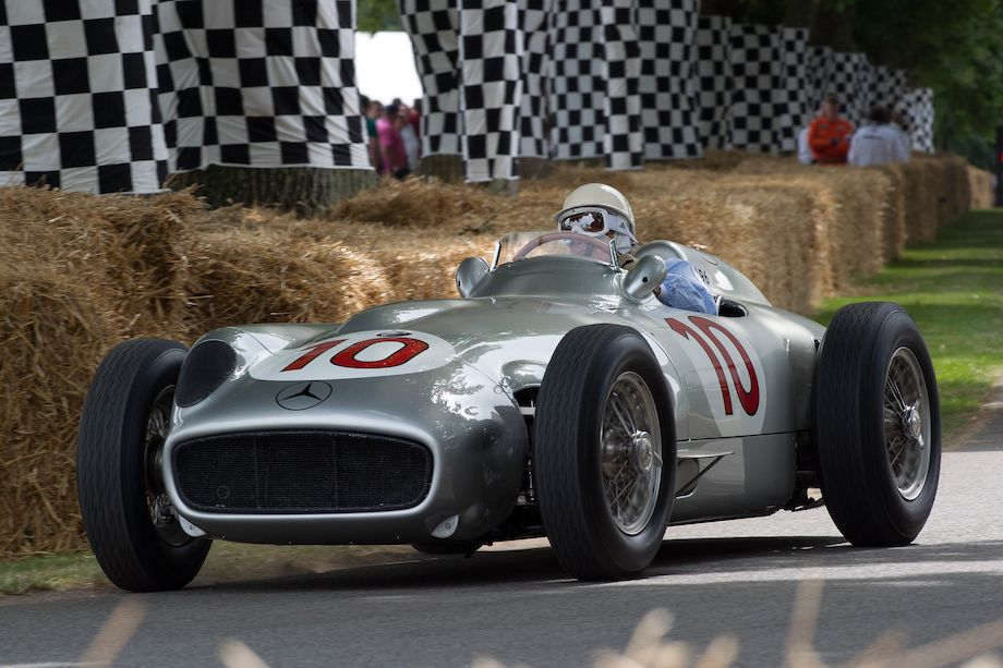 Mercedes-Benz W196 driven by Stirling Moss