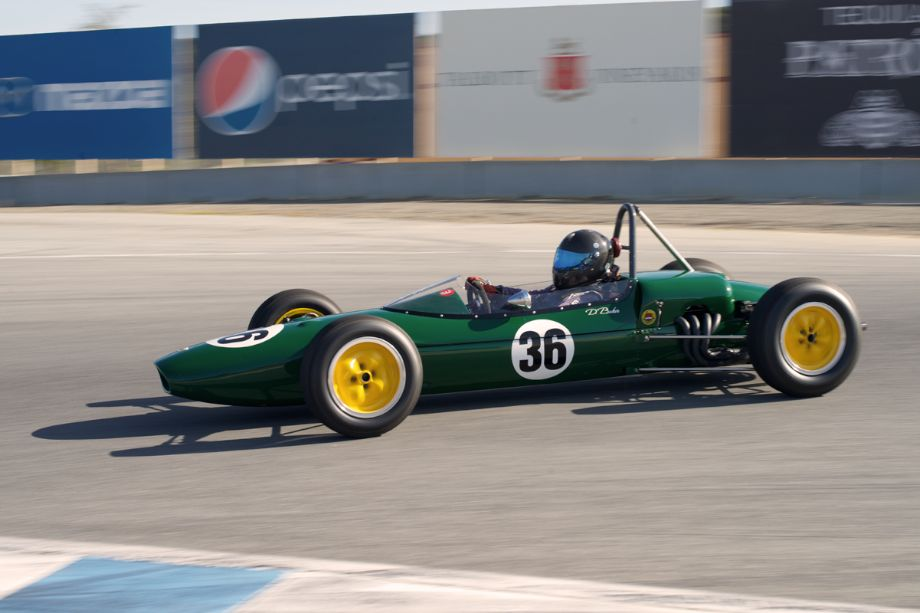 Danny Baker's Lotus 27. A very quick combination.