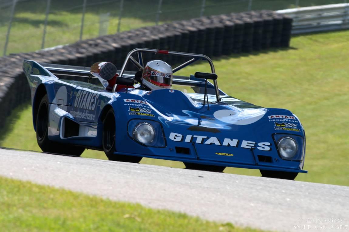 Lola T294 driven by Steven Read.