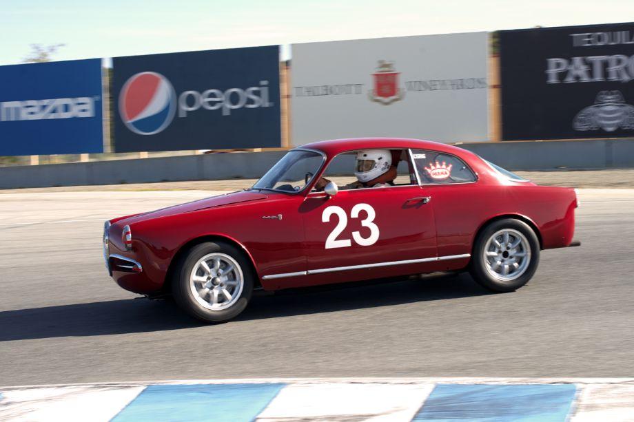 Alfa Romeo Giulietta Sprint driven by Glen Oliveria.