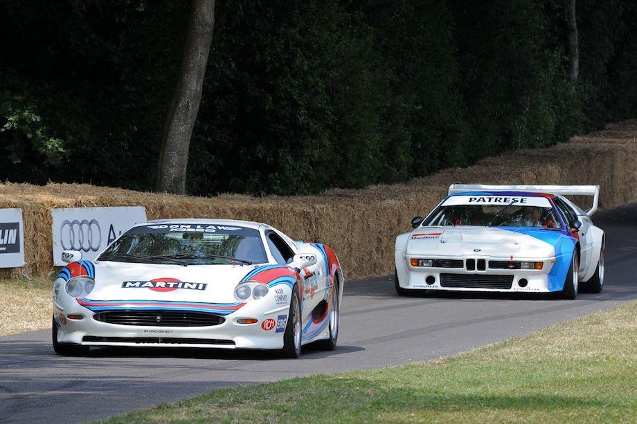 Martini Jaguar XJ220 and BMW M1 Procar