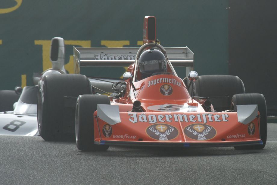 James King in his MARCH 761.