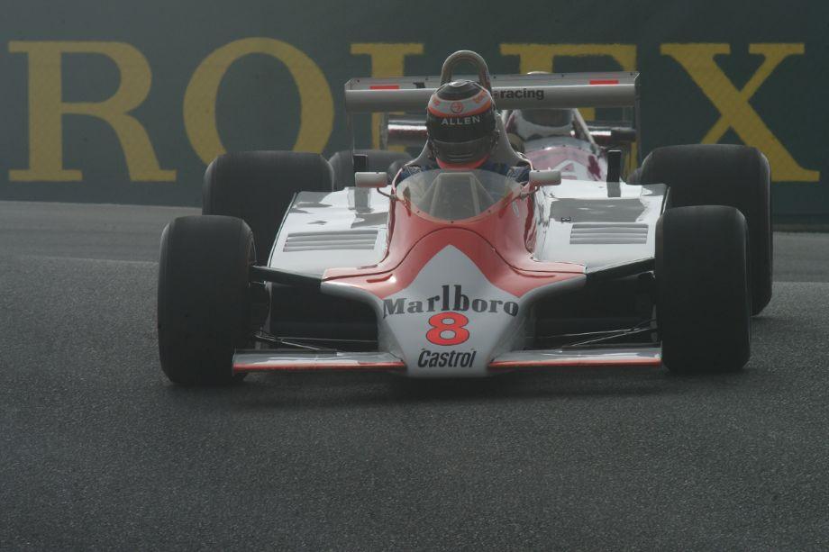 Allen Sean's McLaren M30.