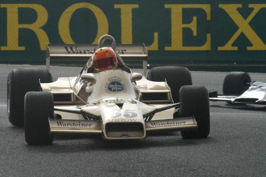Arrows FA1 driven by Tom Minnich.