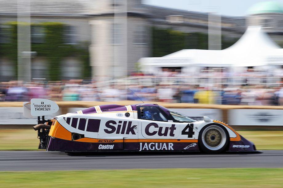 Silk Cut Jaguar XJR9 Group C