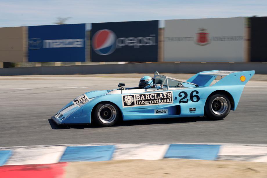 Rob Gritten's 1972 Lola T292 in elven.