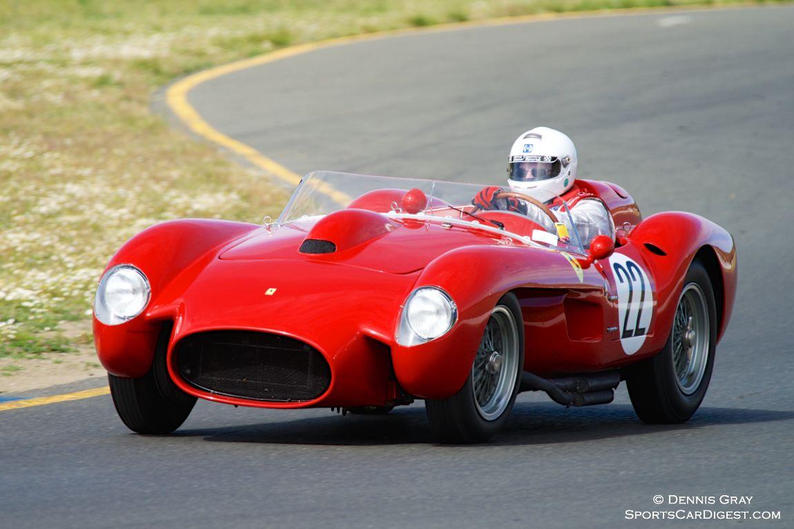 Tom Price in his Ferrari 250TR.