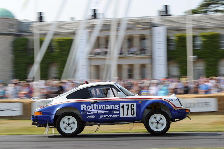 Rothmans Porsche 911 Paris Dakar Rally