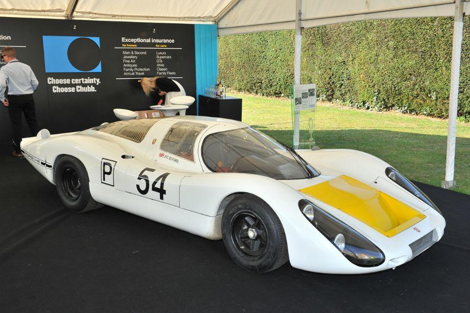 1968 Porsche 907, winner of the Daytona 24-Hours