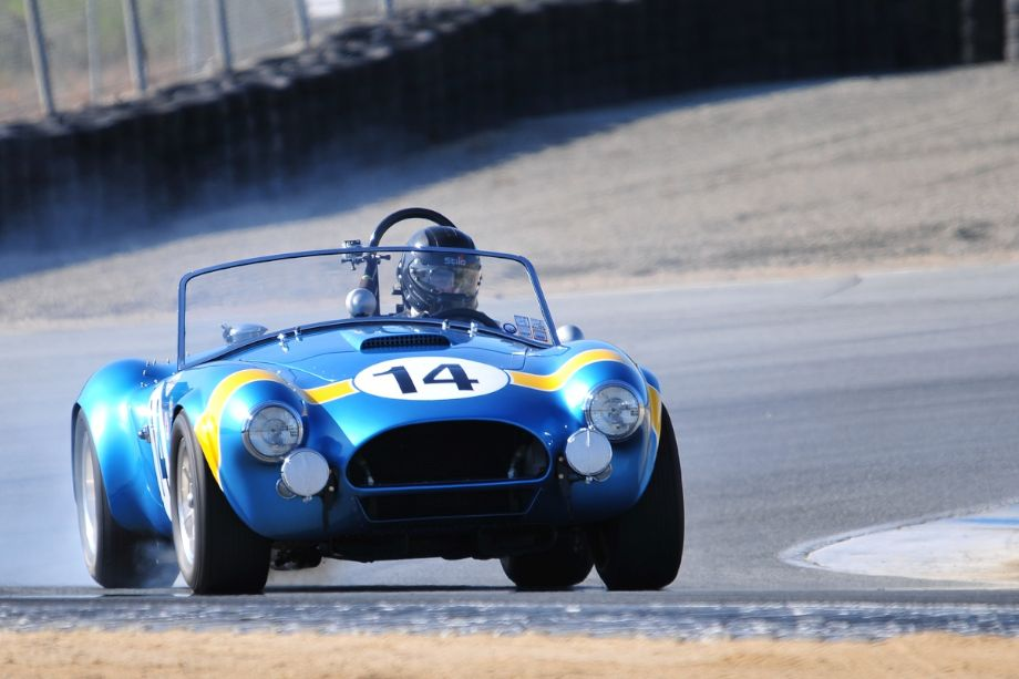 1964 Shelby Cobra driven by Chip Connor