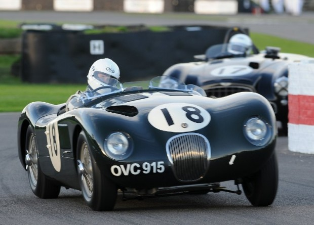 Jaguar C-Type of Jonathan Turner during Goodwood Revival