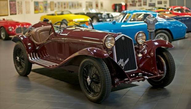 1932 Alfa Romeo 8C 2300 Spyder