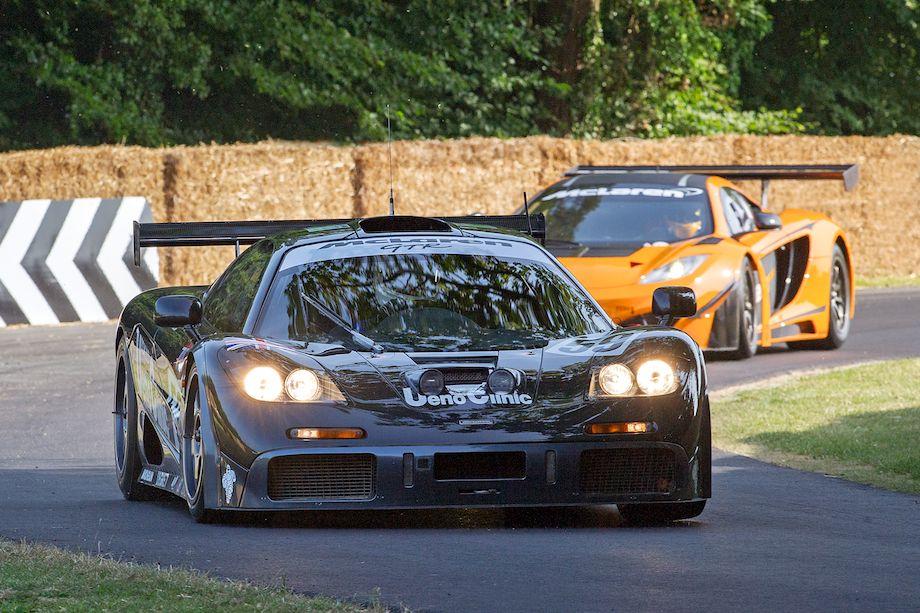 McLaren F1 GTR, winner of the 1995 Le Mans 24 Hours