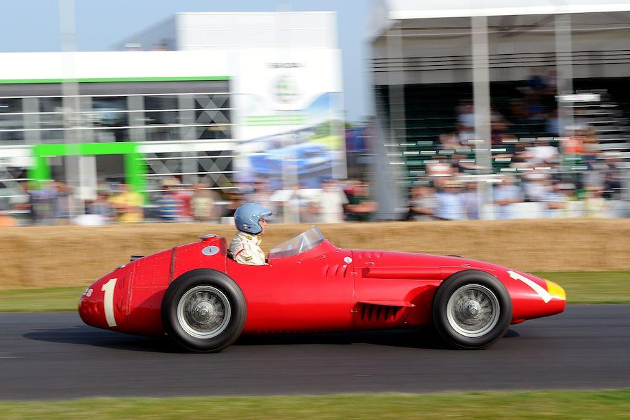 Maserati 250F, ex-Juan Manuel Fangio German Grand Prix winner at the Nurburgring