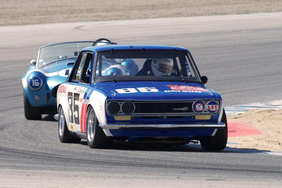 Ex-Bobby Allison 1970 BRE Datsun 510 of Adam Carolla