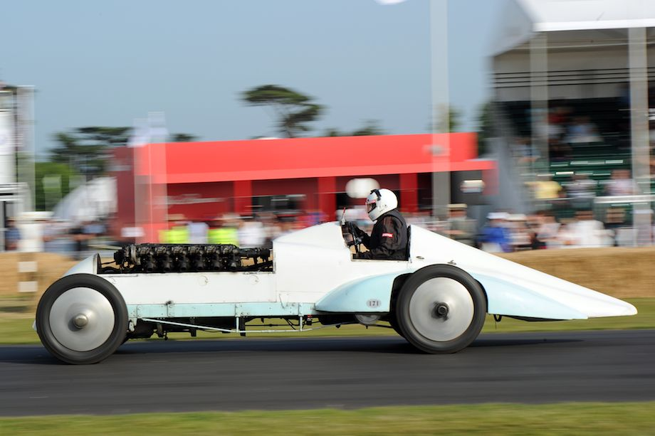 Babs was the land speed record car powered by a 27-litre Liberty aero-engine.