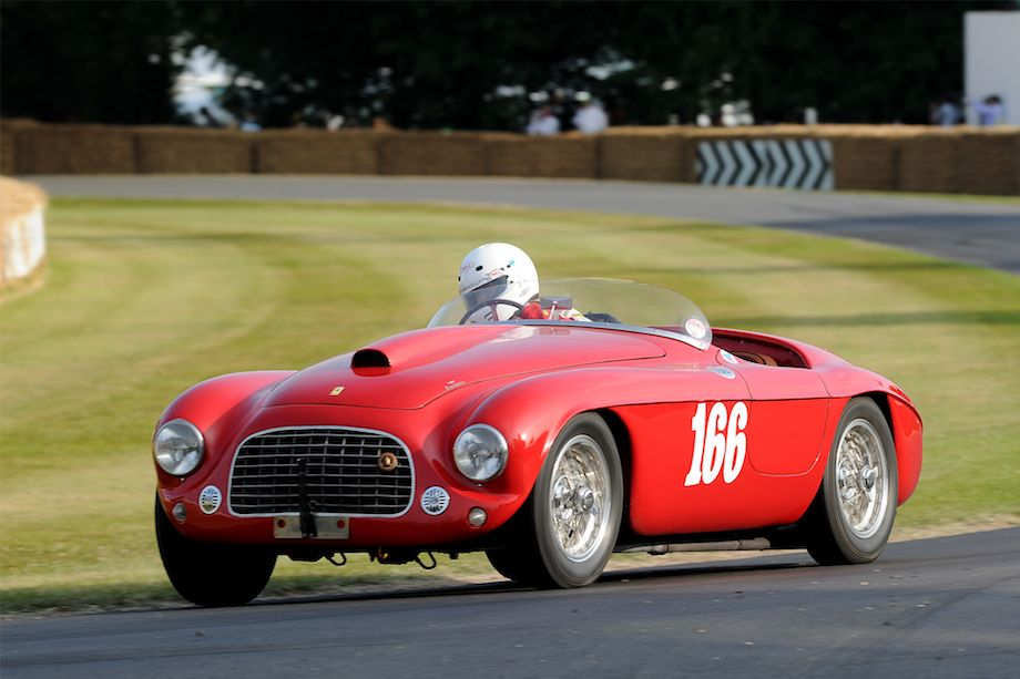 1950 Ferrari 166 MM Barchetta by Touring