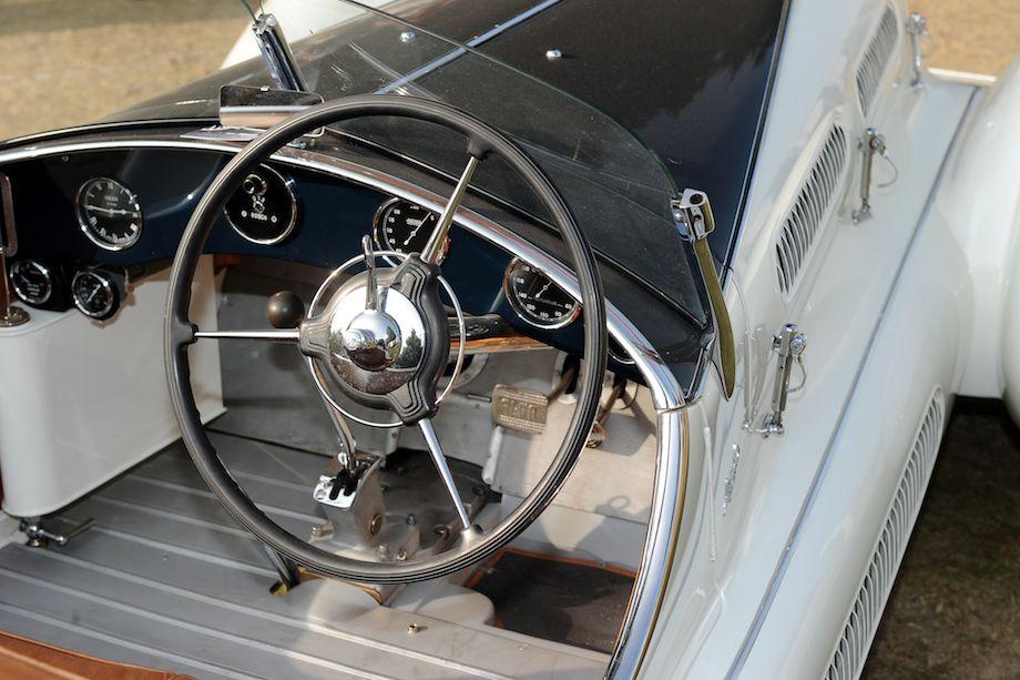1938 Alfa Romeo 6C 1750 Gran Sport Aprile Spider Corsa