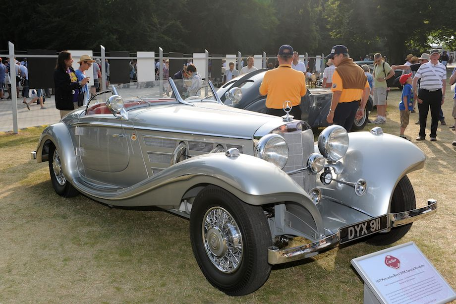 1937 Mercedes-Benz 540K Spezial Roadster