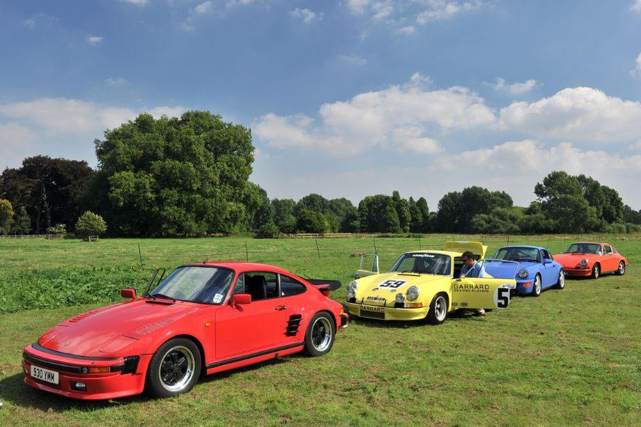 1986 Porsche 930 SE Turbo and 50th Anniversary 911 Class