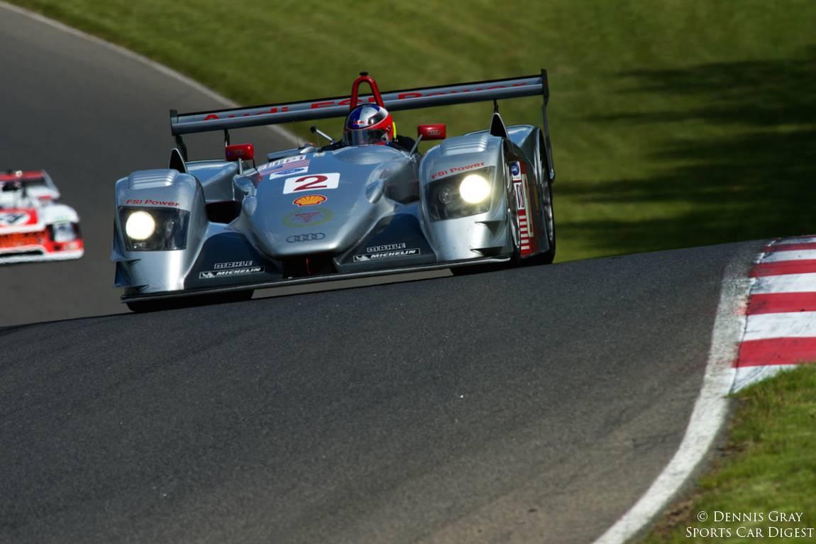 Travis Engen's 2005 Audi R8LMP.