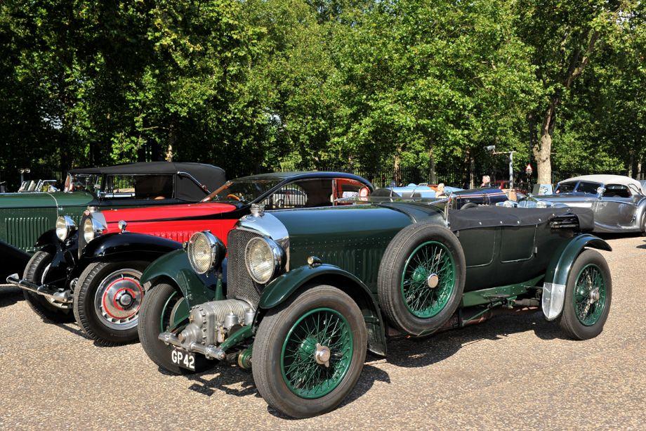1931 Bentley 4 1/2 litre Van den Plas Supercharged Sports Tourer and 1932 Bugatti Type 50T Coach Profilée
