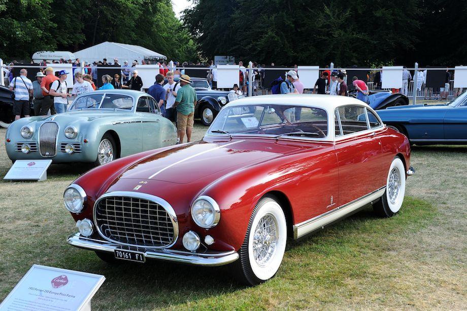 1953 Ferrari 250 Europa Pinin Farina